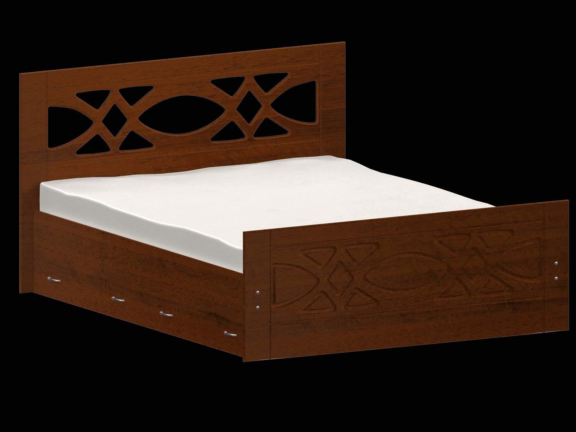 Кровать анталия из дерева фото